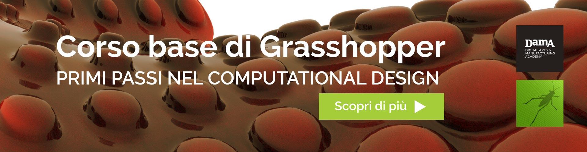 Grasshopper - corso base di computational design