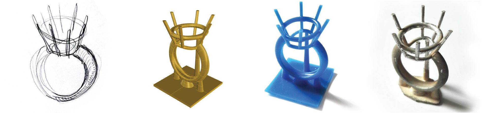 Corso base di jewelry design corso di stampa 3d per for Design di gioielli