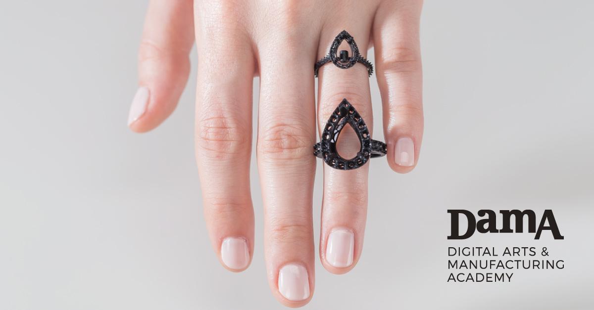 Corso di design del gioiello per la stampa 3d dama milano for Design gioielli milano